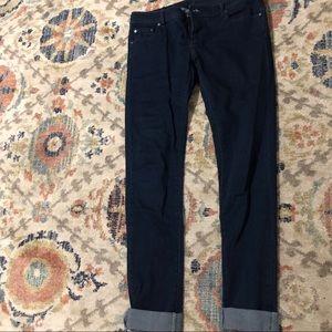 Armani Exchange dark blue jeans